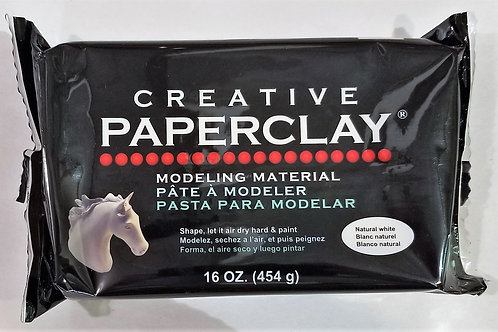 Creative Paperclay, 16oz