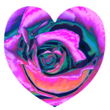 """Besso Rose"" Metal Print"