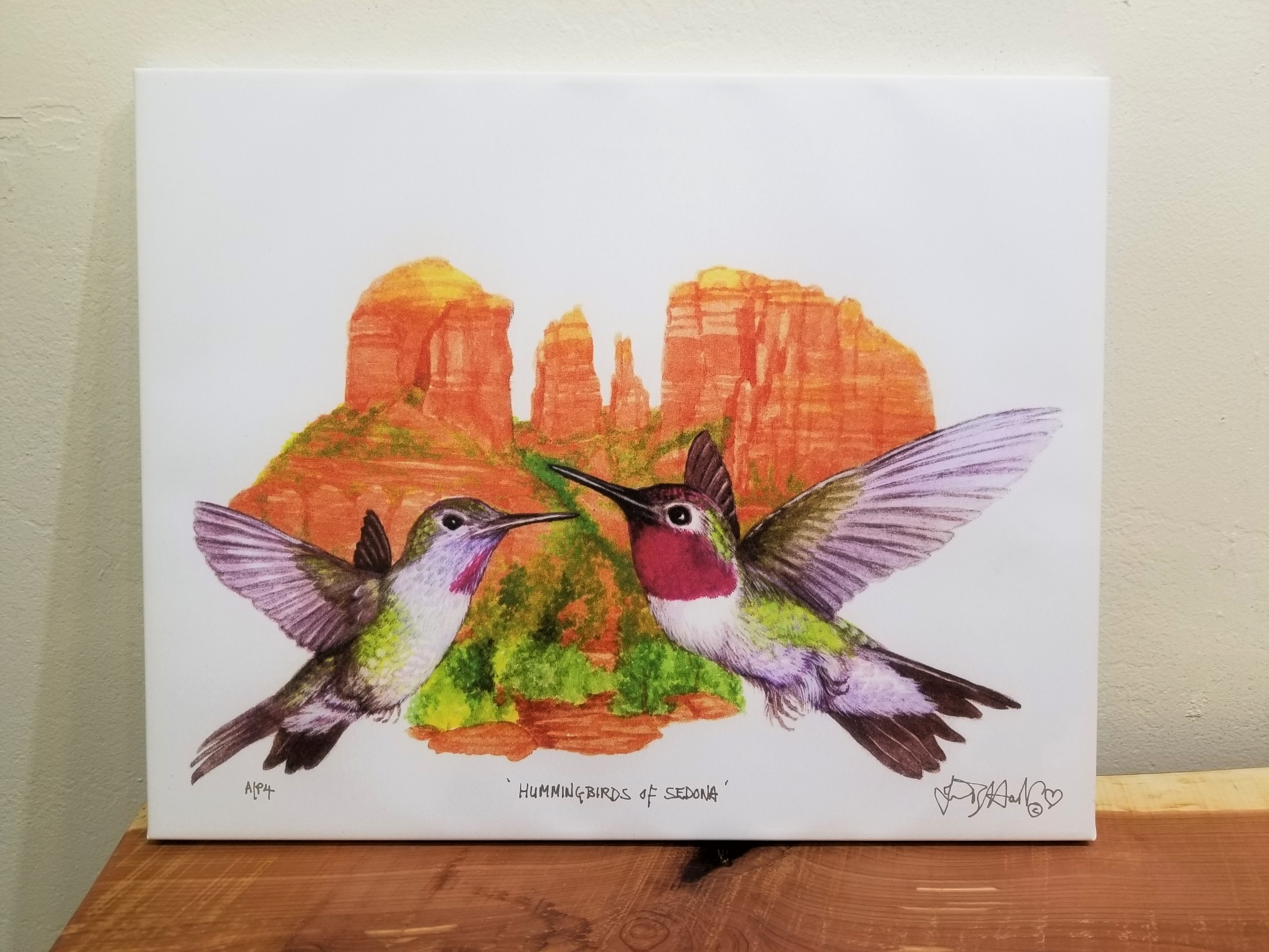 mmingbirds of Sedona, June Payne Hart