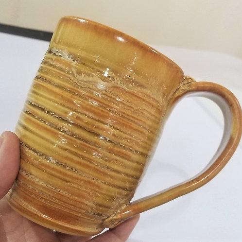 Beige Ceramic Mug