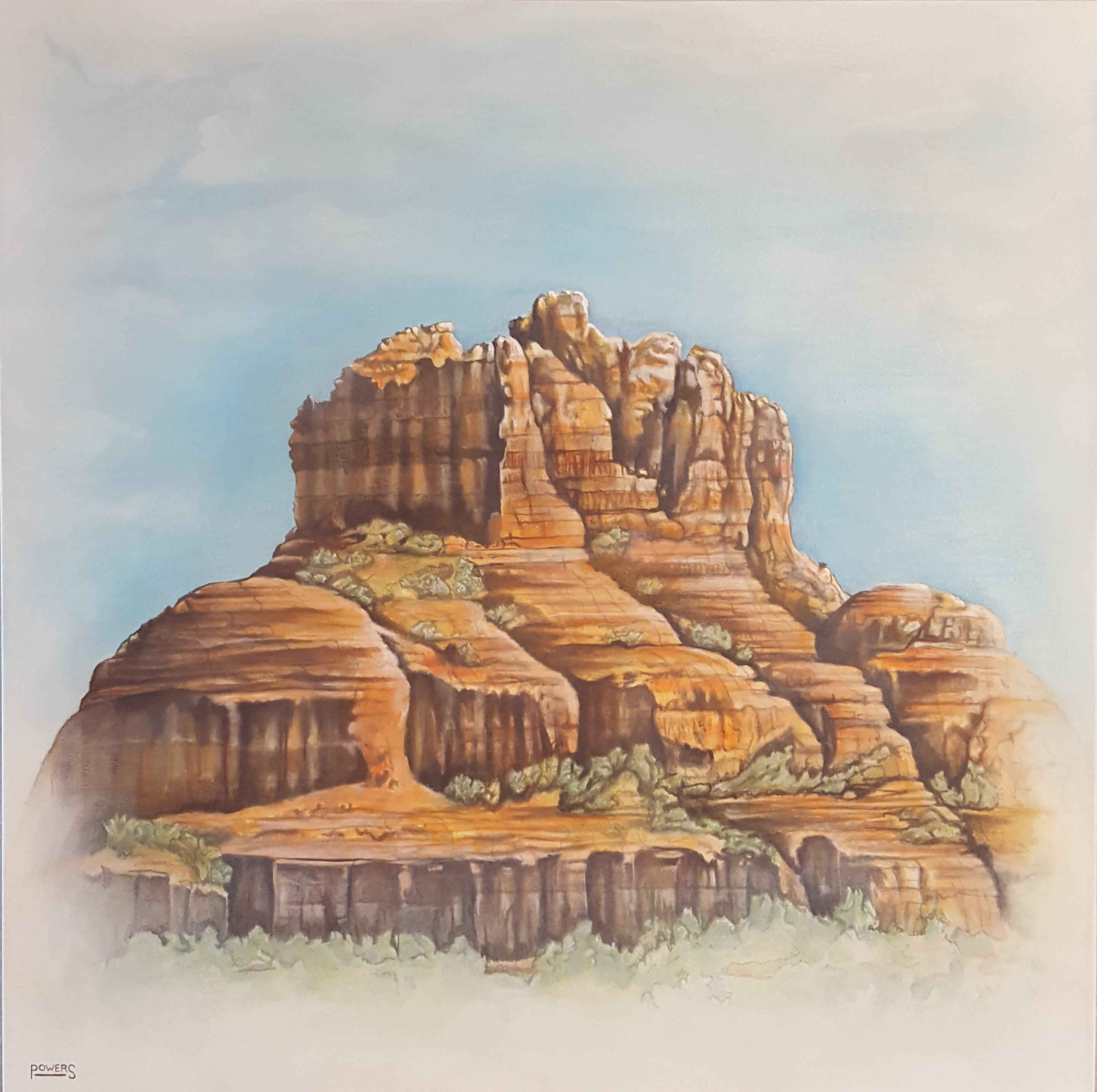 Bell Rock, by Dann Powers