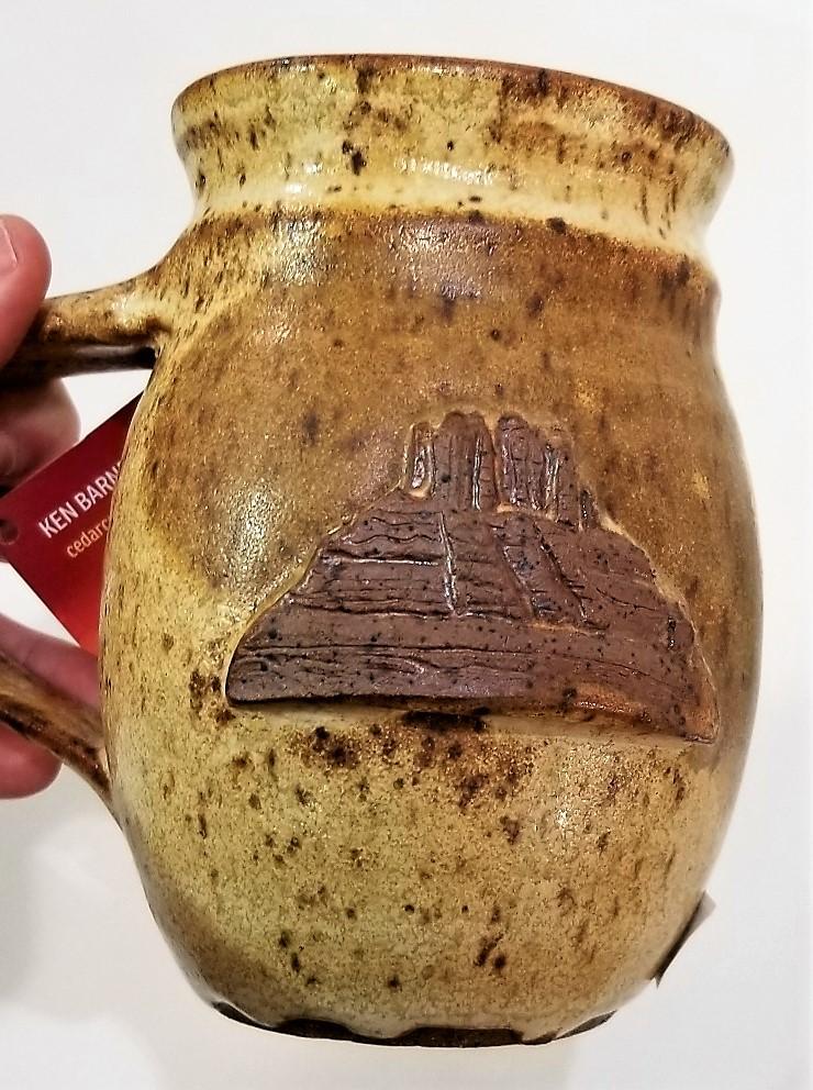 Handmade Ceramic Sedona Mug by Ken Barnes