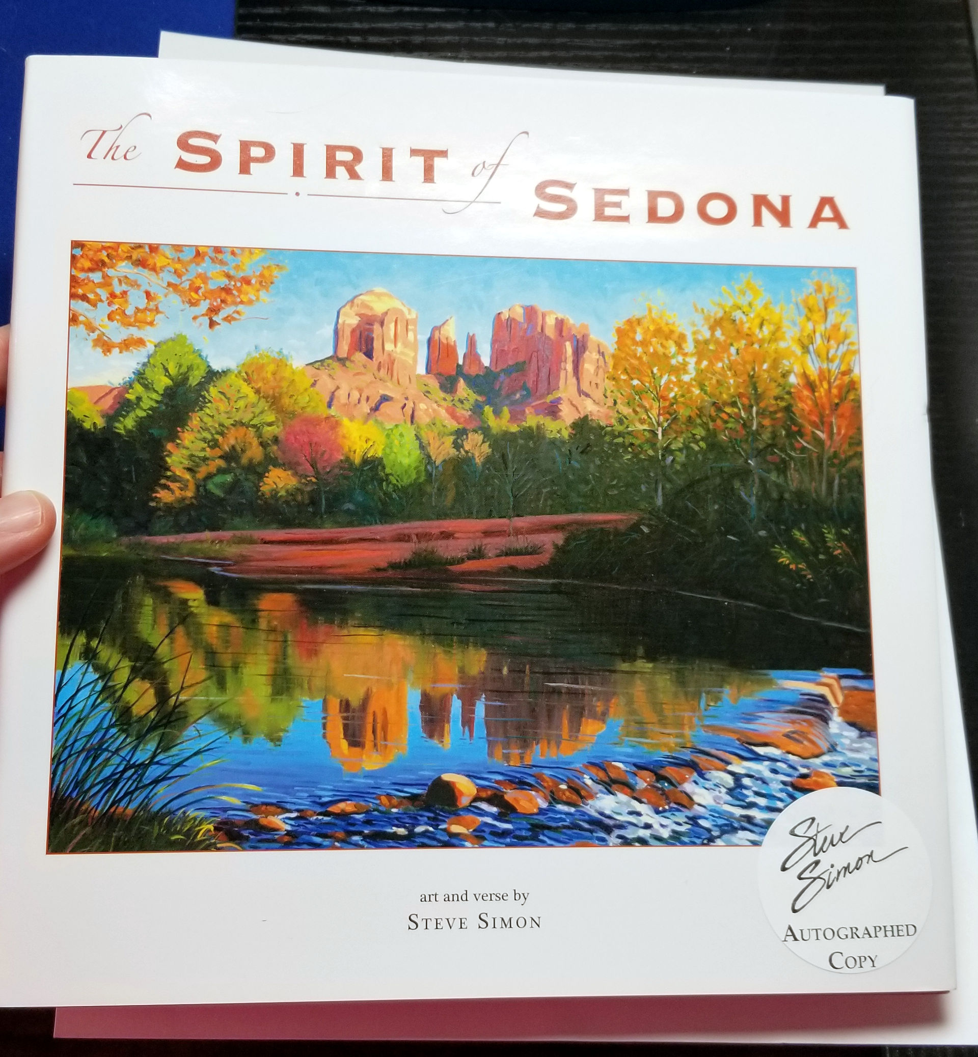 Spirit of Sedona Art Book by Steve Simon