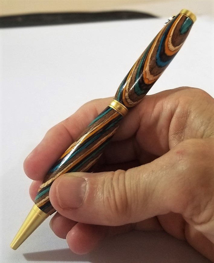 Multigrain Pen, by Barry Reifman