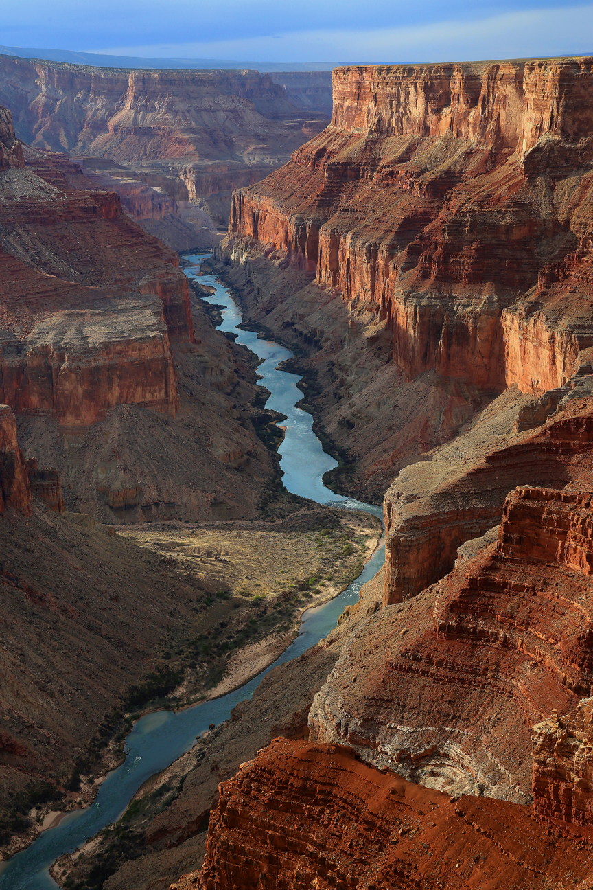 Grand Canyon Colorado River Sunset Views, by Mike Koopsen
