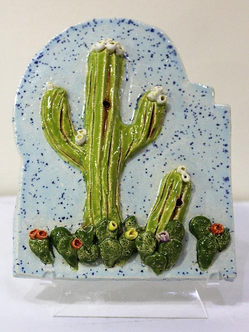 Cactus Ceramic Tile