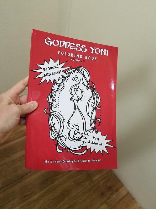 Goddess Yoni Coloring Books
