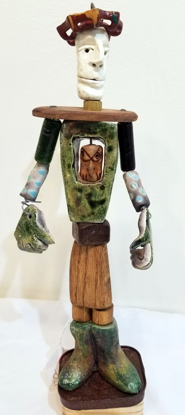 Funky Figure, by Bear Schutz
