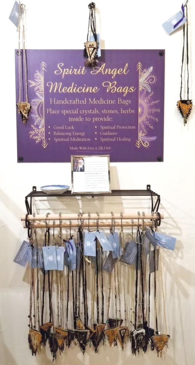 Spirit Angel Medicine Bags