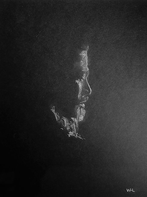 Charcoal Profile Drawing