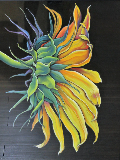"""Constance's Flower"" Pastel"
