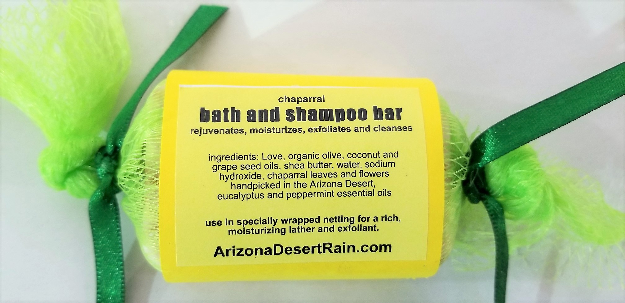 Chaparral Desert Rain Bath and Shampoo Bar by Arizona Desert Rain