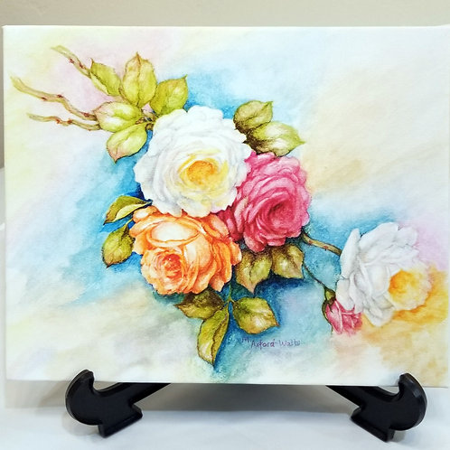 """""""Spring Flowers"""" Giclee"""