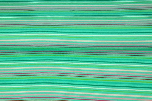 Stenzo groen strepen 10euro/meter