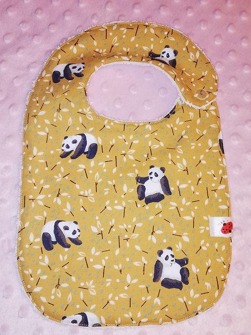 slabbetje met panda