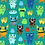 Thumbnail: MI &JOE -vrolijke monsters -    9euro/m