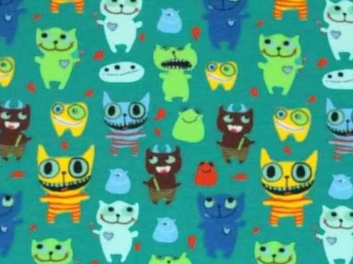 MI &JOE -vrolijke monsters -    9euro/m