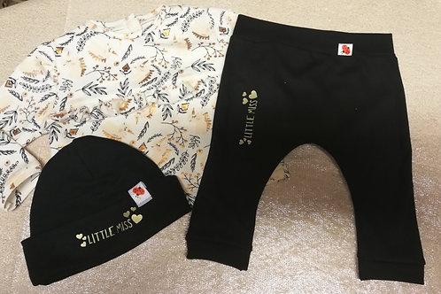 set unicorn met zwarte broek