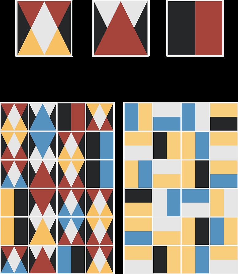 Taglio e Mezzo - Azulejo Piso Geométrico