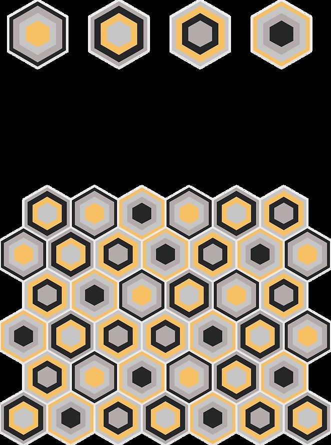 porcelanato hexagonal colméia