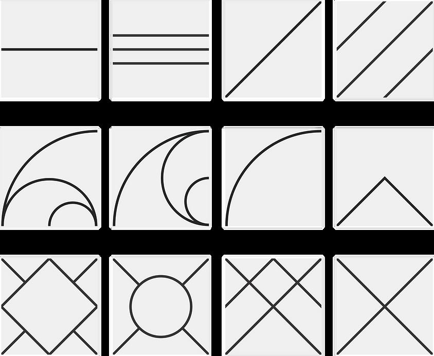 Liner - Azulejo Piso Geométrico Minimalista