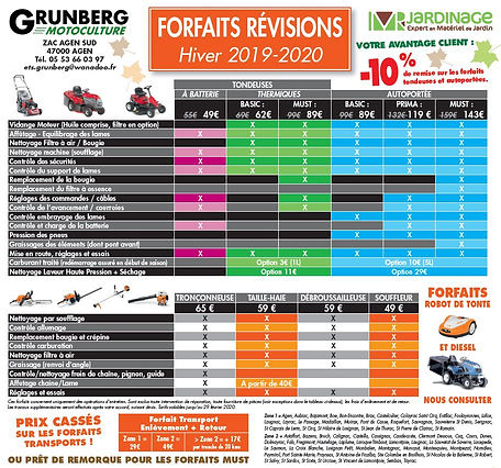 Grunberg_Motoculture_Forfaits_Révisions_