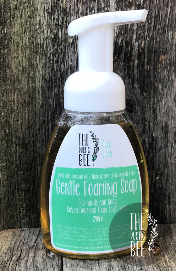 Pure Clean Foaming Soap and Lemongrass & Eucalyptus Hand and Body Lotion Available Now!