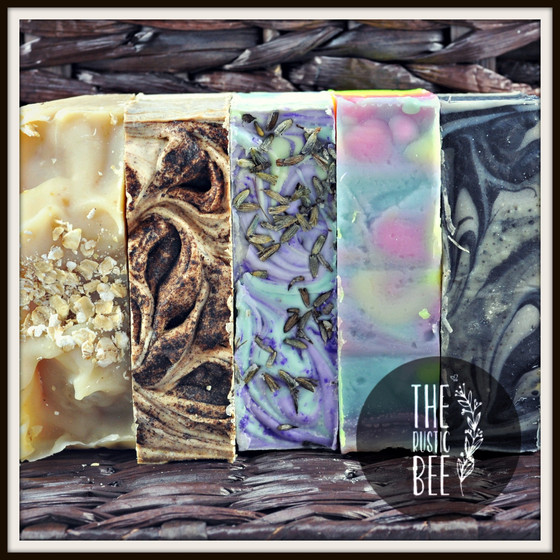 Oh Me, Oh My!  Rustic Bee Handmade Soap!