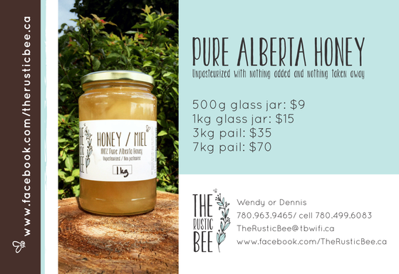The Rustic Bee Unpasteurized Honey