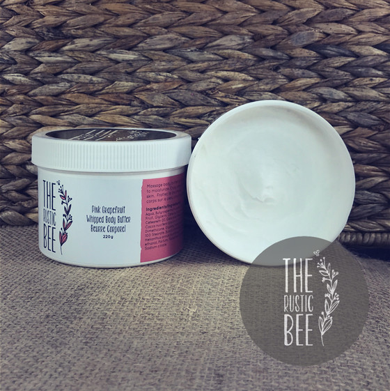 Now in the online store!  Blueberry Creme Brulee and Pink Grapefruit Whipped Body Butters