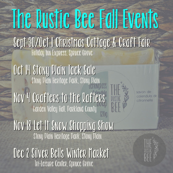 The Rustic Bee Fall Events
