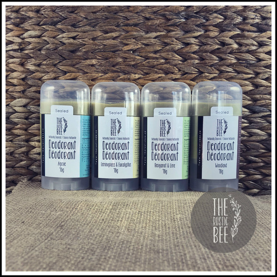 New!  Naturally Sourced Deodorant & Hand & Body Lotion