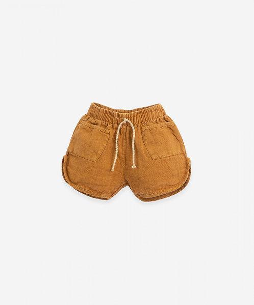 Pantalón corto con cordón de yute   Botany - PLAY UP