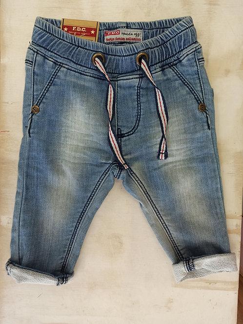 Pantalón Tejano Cordón Marinero - 1 mes - FEETJE