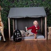 Funda Para Cama Casita Montessori - Disponible en 2 Tamaños y 2 Colores