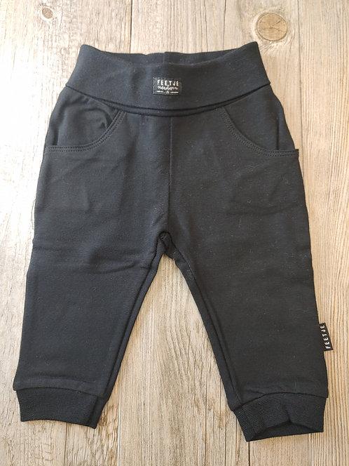Pantalón Negro Newborn - 3 meses - FEETJE