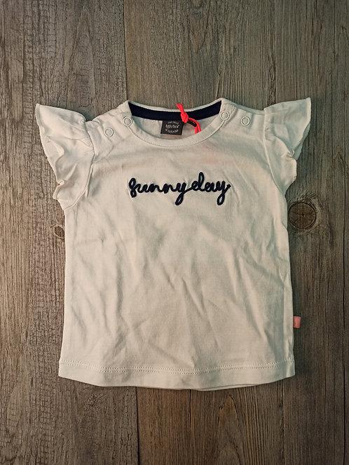 Camiseta Blanca Sunny Day - BABY FACE