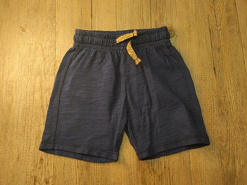 Pantalón Corto Azul Marino Cordón Mostaza - PLAY UP