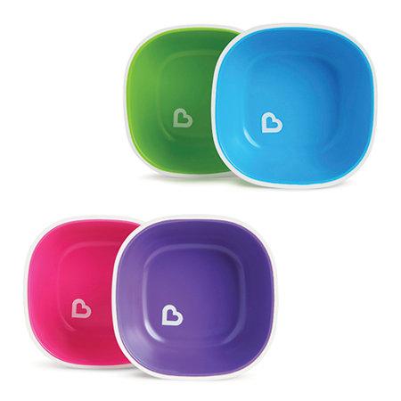 Pack Cuencos Antideslizantes Splash (2 ud.) Diferentes Colores
