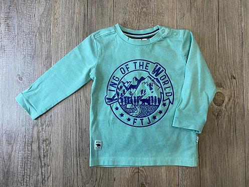 Camiseta Mint King Of The World - 9 meses - FEETJE