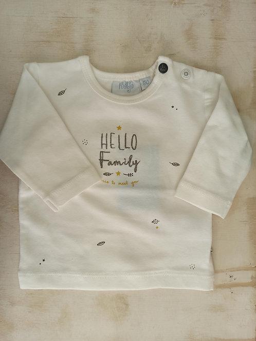 Camiseta Hello Family - FEETJE