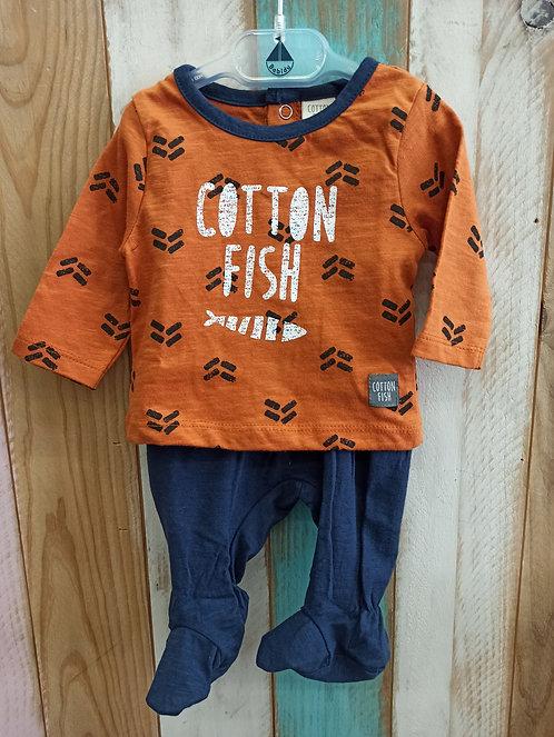 Conjunto Naranja ^^ - COTTON FISH