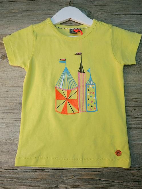 Camiseta Amarilla Circo  - BABY FACE