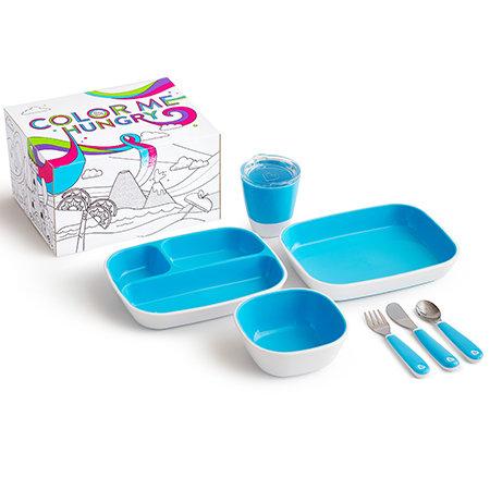 Pack Vajilla Splash con Caja Para Pintar - Diferentes Colores