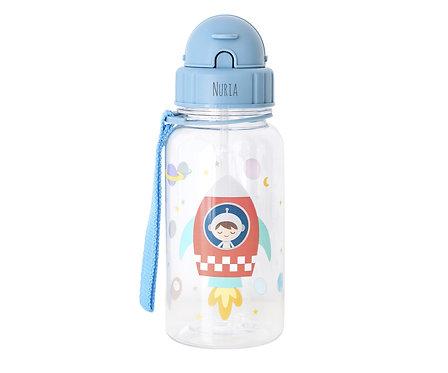Botella Plástico Espacio Personalizable