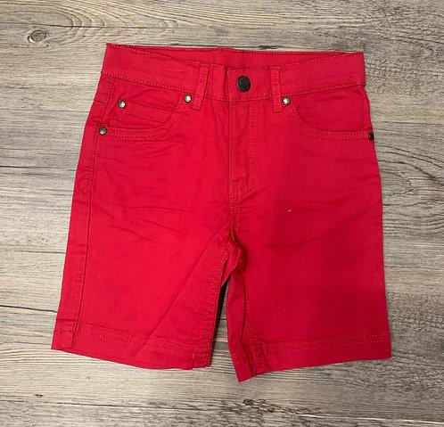 Pantalón Corto Tejano Rojo - UBS2