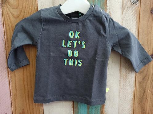 Camiseta Ok Let's Do This - BABY FACE