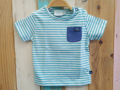 Camiseta Rayas Bolsillo - FEETJE