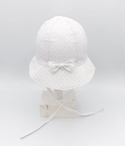 Sombrero Lazo Mini Topitos - MONNUAGE
