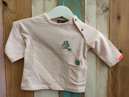 Camiseta Rosa Regadera - BABY FACE